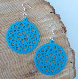 Mandala Dreamcatcher Earrings Preview Image