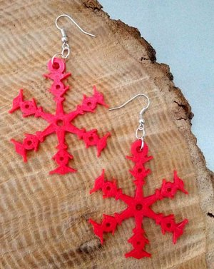 Snowflake Earrings Preview Image